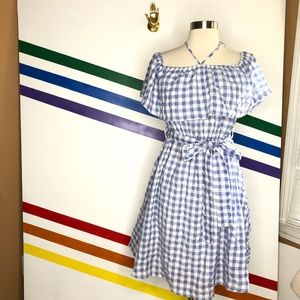 NEW 11.1 TYLHO gingham dress